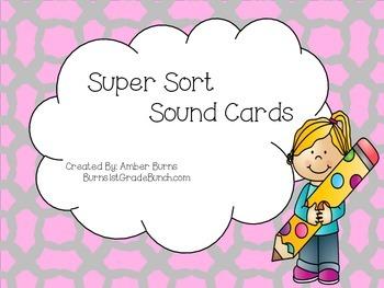 Super Sound Sort Cards