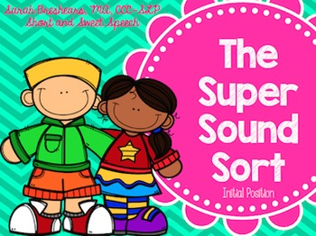 Super Sound Sort: Initial Position