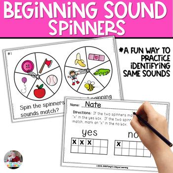 Beginning Sound Super Spinners