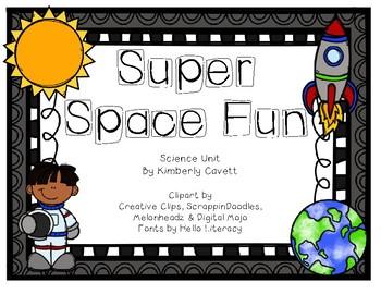 Super Space Fun Science Unit