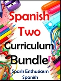 Super Spanish Two Curriculum Bundle - Grammar, Vocabulary, Games & Projects