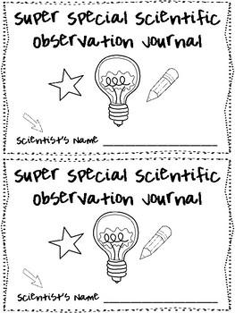 Super Special Scientific Observation Journal