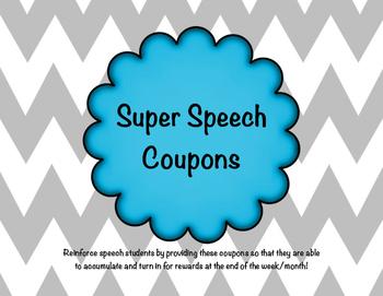 Super Speech Coupons