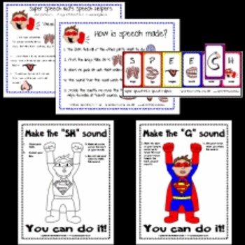 Super Speech Kid Set 1