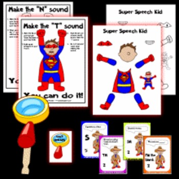 Super Speech Kid Set 2