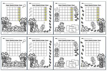 Super Speech Sticker Chart Detectives Pack
