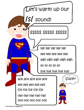 Super Speech Warm Ups