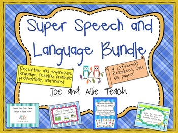 Super Speech and Language Bundle