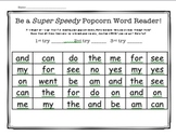 Editable Sight Word Reading Challenge! Perfect for homework or word work