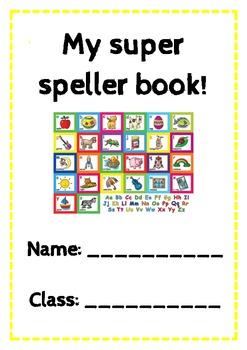 Super Speller Book! Top 400 Oxford word list.