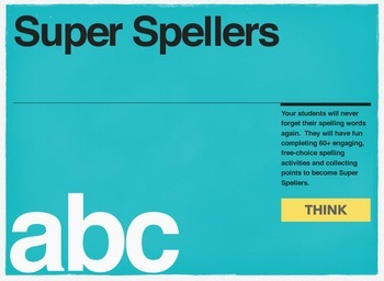 Super Spellers: 60+ daily activities that make learning to spell fun & rewarding