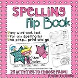 Spelling Activities - SuperSpeller Flip Book