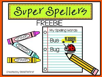 Super Spellers Freebie