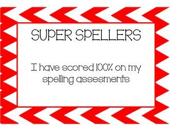 Super Spellers Poster