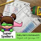 Super Spellers - Spelling Homework for the entire year - J