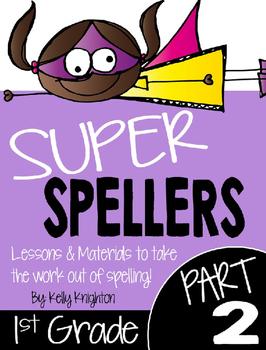 Super Spellers! Spelling Program for First Grade {FREEBIE}