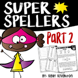 Super Spellers! Spelling Program for First Grade {Part 2}