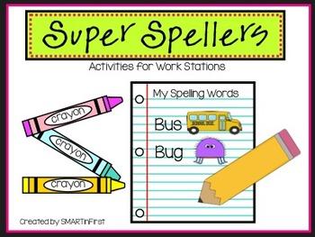 Super Spellers Word Work Activities