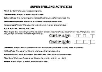 Super Spelling 2