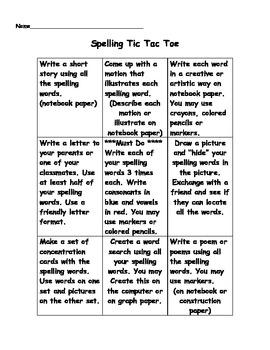 Super Spelling Activities!