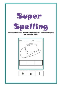 Super Spelling (Complete) - Special Needs, Autism, Early Learning