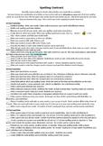 Super Spelling Contract
