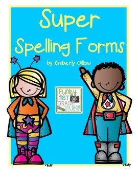 Super Spelling Forms