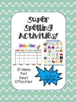 Super Spelling Games!