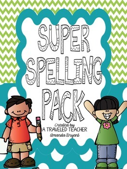 Super Spelling Pack