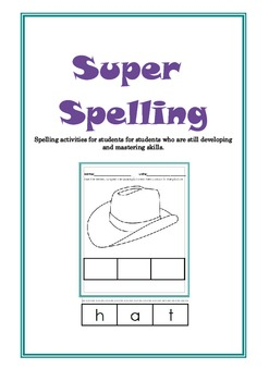 Super Spelling (Sample) - Special Needs, Autism, Early Learning