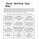 Super Spelling Your Way (includes spanish version)