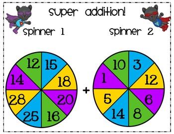 Super Spinner Addition