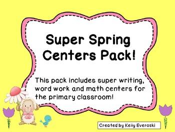 Super Spring Centers Pack!