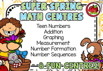 Super Spring Math Centres!