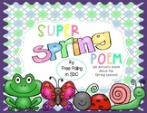 Super Spring Poem (an acrostic poem all about Spring!)