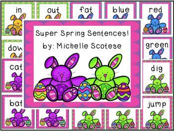 Super Spring Sentences!