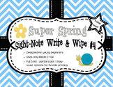 Super Spring Sight-Note Write & Wipe #4