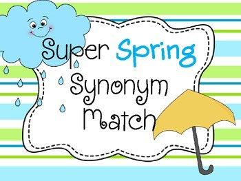 Super Spring Synonym Match
