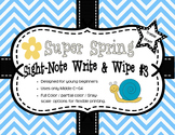 Super Spring Sight-Note Write & Wipe #3
