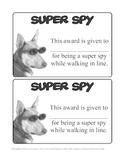 Super Spy- Walking in Line Management Idea