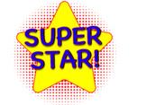 Super Star Badge Set 1