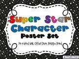 Super Star Character Poster Set