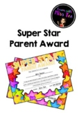 Super Star Home Schooling Parent Award