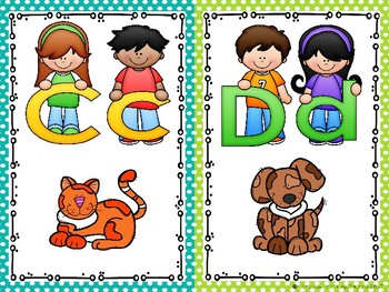Super Star Kids Alphabet Cards {Ladybug Learning Projects}