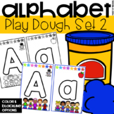 Play Dough Alphabet Mats for Preschool, Pre-K, and Kindergarten
