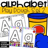 Play Dough Alphabet Mats for Preschool, Pre-K, and Kindergarten