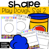 Play Dough 2D Shapes Mats
