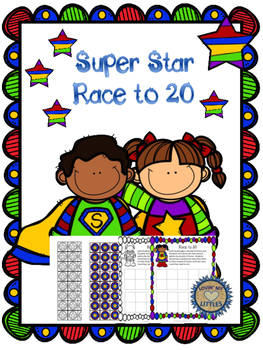 Super Star Race to 20, A Double 10 Frame Game