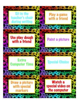 Super Star Reward Cards
