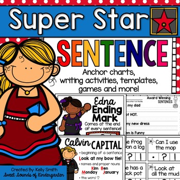 writing a sentence anchor chart